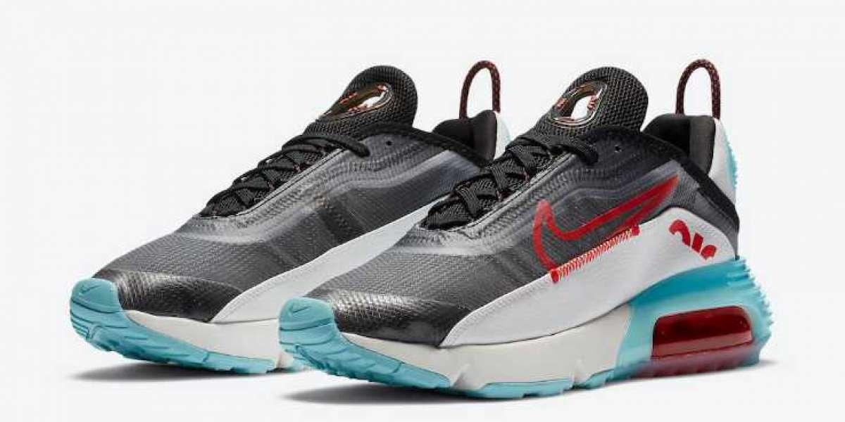 DA4292-001 Nike Air Max 2090 Black Chile Red On Sale