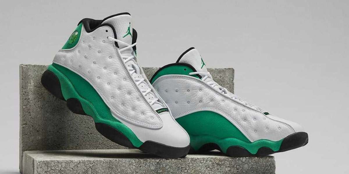 New Arrive Air Jordan 13 Lucky Green