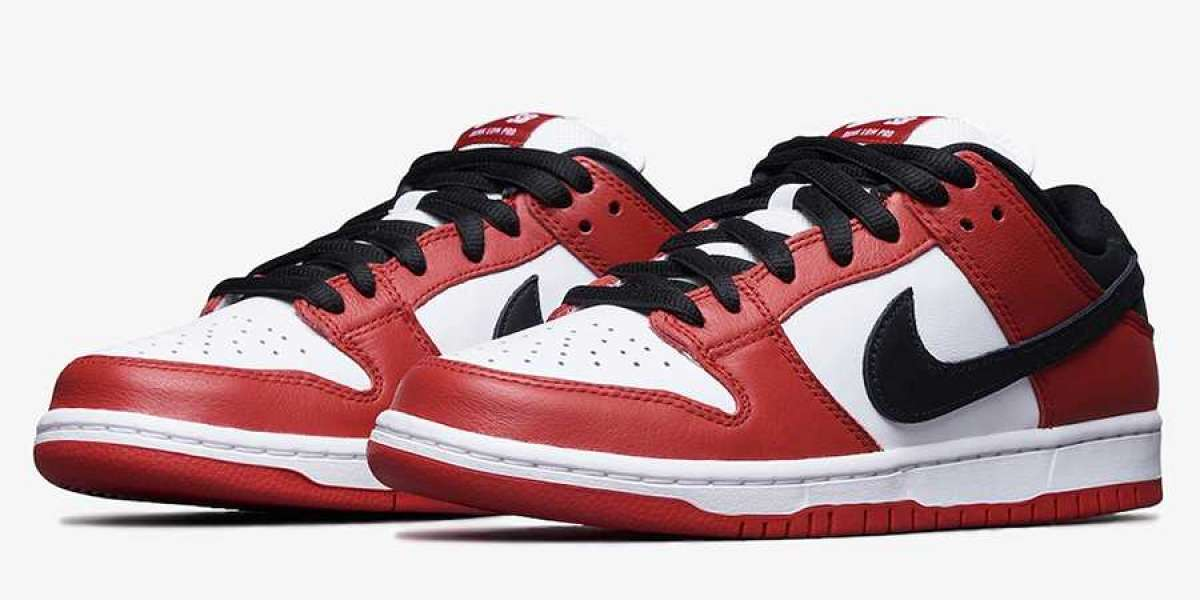 """BQ6817-600 Nike SB Dunk Low Pro """"Chicago"""" will release for Summer 2020"""