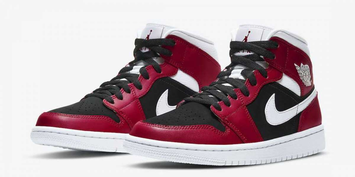 Brand New Air Jordan 1 Mid WMNS BQ6472-601 sneakers release information