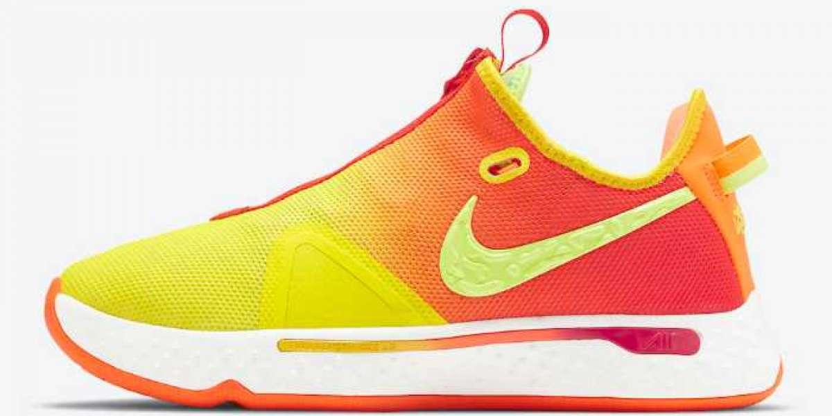 "2020 New Nike PG 4 ""Pickled Pepper"" CD5082-601 Shoes are coming!"